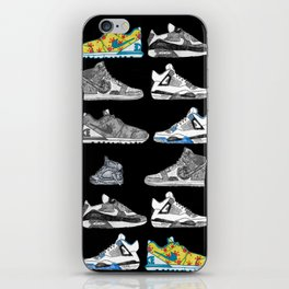 Seek the Sneakers iPhone Skin