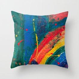 Color Code Throw Pillow