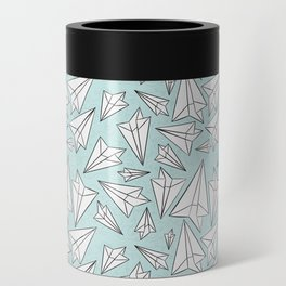 Paper Airplanes Mint Can Cooler