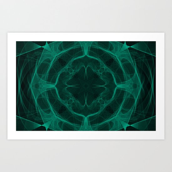 Dark trip Art Print