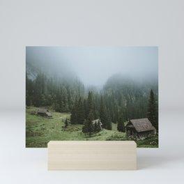 Planina pri jezeru Mini Art Print