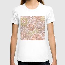 Rosey Gold Mandalas T-shirt