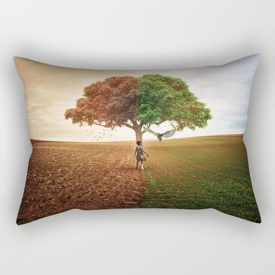 Division Rectangular Pillow