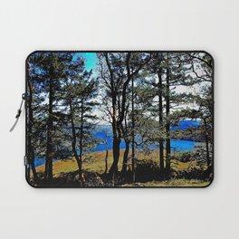Trees, Daylight Stoney Hill Laptop Sleeve