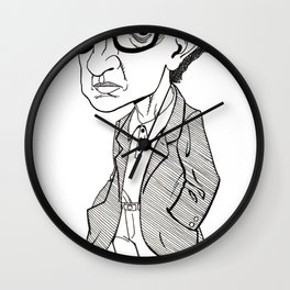 Woody Allen Angst Wall Clock