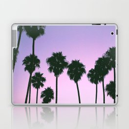 Palm Tree Purple Sunset Laptop & iPad Skin