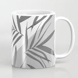 Envelope leaves decor. black. white. grey. 2. Coffee Mug