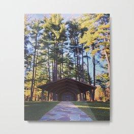 Fall Park Metal Print