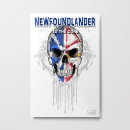 To The Core Collection: Newfoundland & Labrador Metal Print