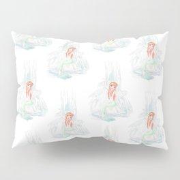 Bathing Mermaid Pillow Sham