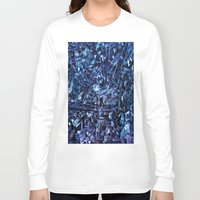 glass Long Sleeve T-shirts featuring glass by silverylizard
