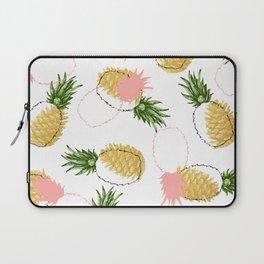 Pineapples & Pine Cones #society6 #decor #buyart Laptop Sleeve