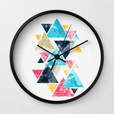 Triscape Wall Clock