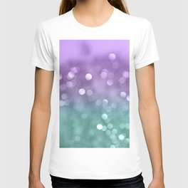 Mermaid Colored Bokeh #1 #shiny #decor #art #society6 T-shirt