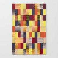 bauhaus Canvas Prints featuring Bauhaus by ohkj