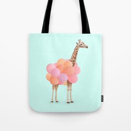 GIRAFFE PARTY Tote Bag