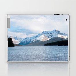 Snow Covered Mountain Photography Print Laptop & iPad Skin