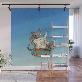 Jellybean The Grown-up Cat Wall Mural