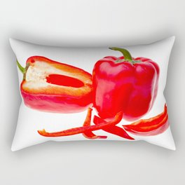 Red pepper Rectangular Pillow