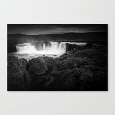Godafoss Waterfall Canvas Print