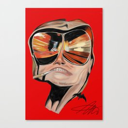 Ode to Bat Country Canvas Print