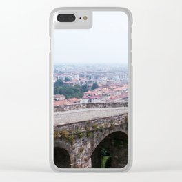 Bergamo Panorama Clear iPhone Case