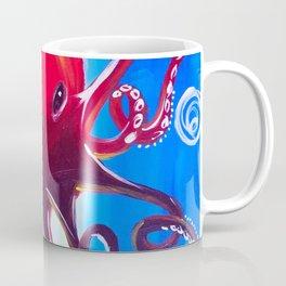 Dancing Octopus Coffee Mug