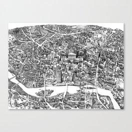 Richmond, Va Canvas Print