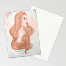 Pink Alice  Stationery Cards
