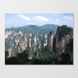 Wulingyuan China Canvas Print