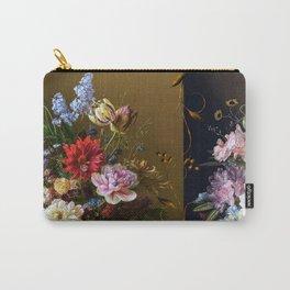 Golden age bohemian floral landscape Carry-All Pouch
