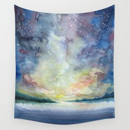 As the sun sets Wall Tapestry