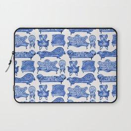 Victorian Lounge – Navy Palette Laptop Sleeve