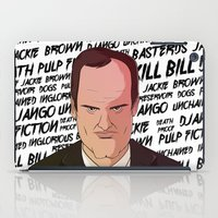 quentin tarantino iPad Cases featuring Tarantino by Happy Motion
