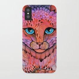 SUNSET CAT iPhone Case