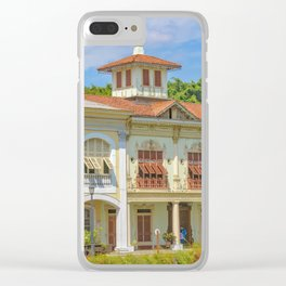 Historic Buildings, Parque Historico, Guayaquil, Ecuador Clear iPhone Case