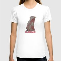buddah T-shirts featuring Laughing Buddah by Heidi Fairwood