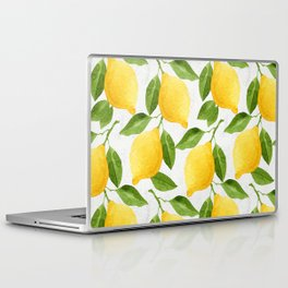 Watercolor Lemons Laptop & iPad Skin