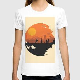 Death Star Alternative Movie Poster T-shirt