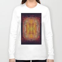 fractal Long Sleeve T-shirts featuring Fractal by kira_komandrovskaya