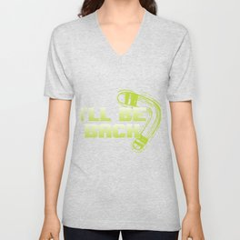 I'll Be Back Boomerang Sports Athletic Wind Game Competitive Sports Gifts Unisex V-Neck