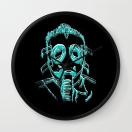 Gas Face Wall Clock