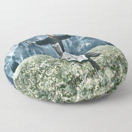 Hills Alive Floor Pillow