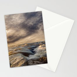 Where The River Kisses The Sea Stationery Cards
