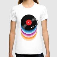 vinyl T-shirts featuring Vinyl by jun salazar