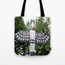 Alaskan Totem - Eagle Tote Bag