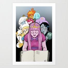 Adventure Ladies! Art Print