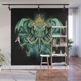 Elephant Ghost Wall Mural