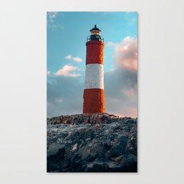 Faro del Fin del Mundo (Faro Les Eclaireurs) III Canvas Print