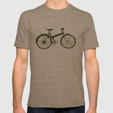Bicycle Mens Fitted Tee Tri-Coffee 2X-LARGE